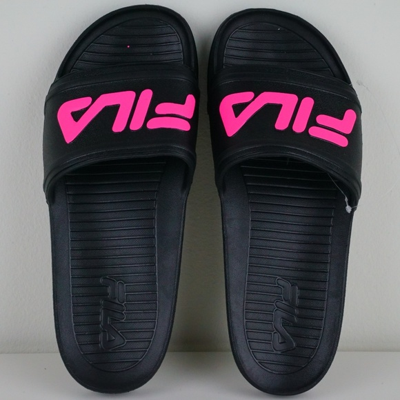 d972fa53fb91 Fila Sleek Slide LT Mens Sandals Flip Flops
